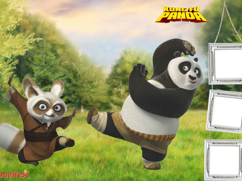 Marco de Foto Kung Fu Panda 3 | JOE | Pinterest