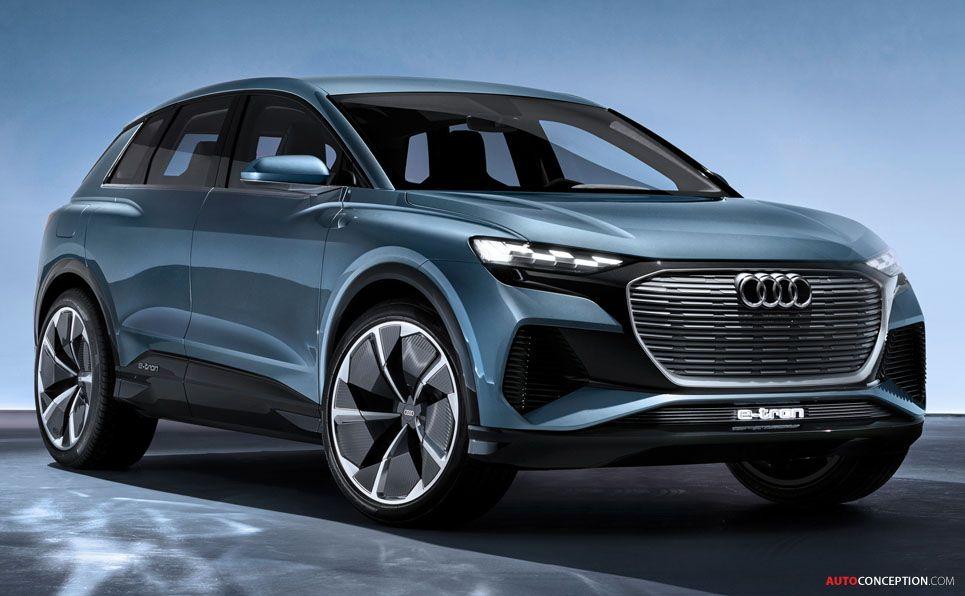 2019 Audi Q4 E Tron Concept Audi Q4 Audi Sports Car Audi Cars
