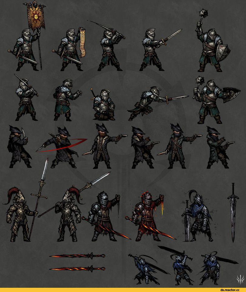 Игровой арт (game art) :: Darkest Dungeon :: Игры   Темная ...