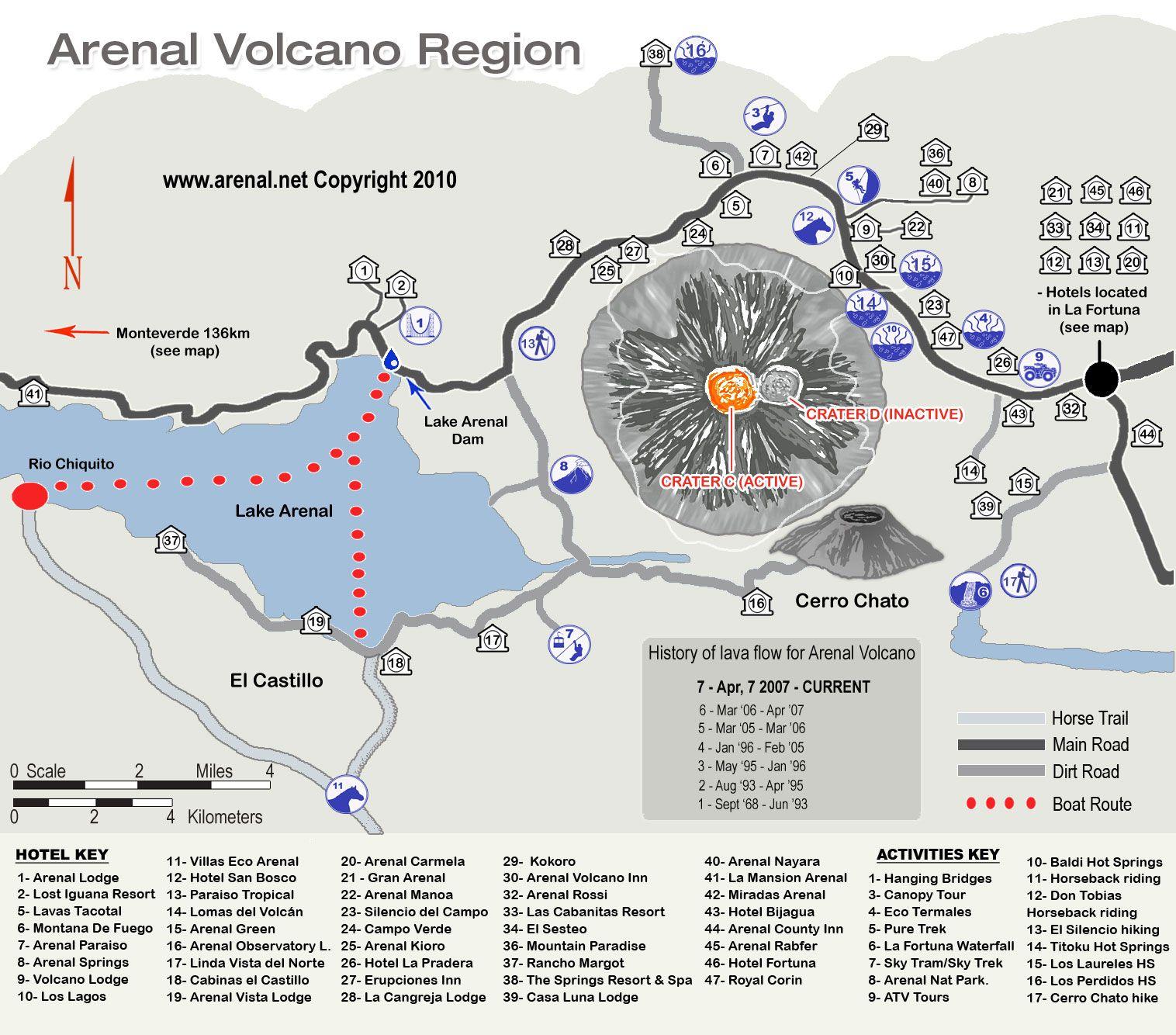 Map Of Active Volcanoes