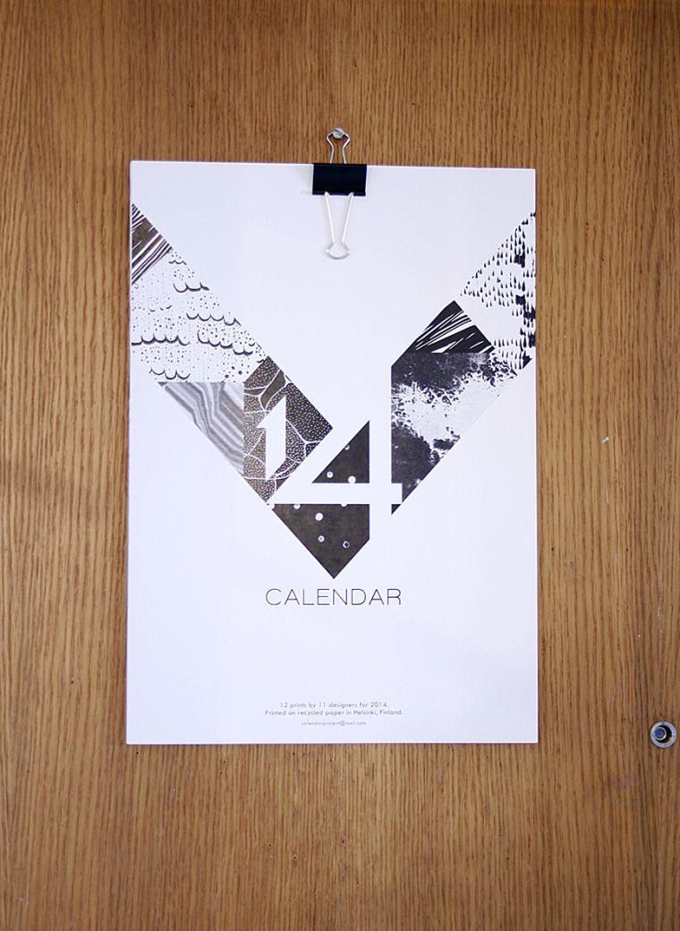 Awesome patternlab 2014 calendar