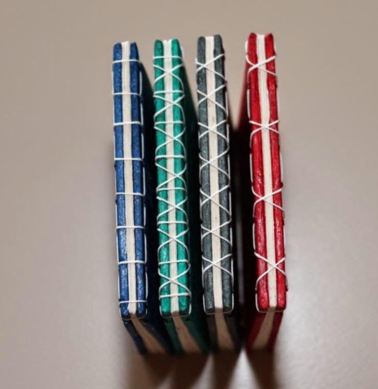 Präsentations-Schachtel, http://mm-creative.blogspot.de/, Buchbinden, asiatische Bindung, book binding