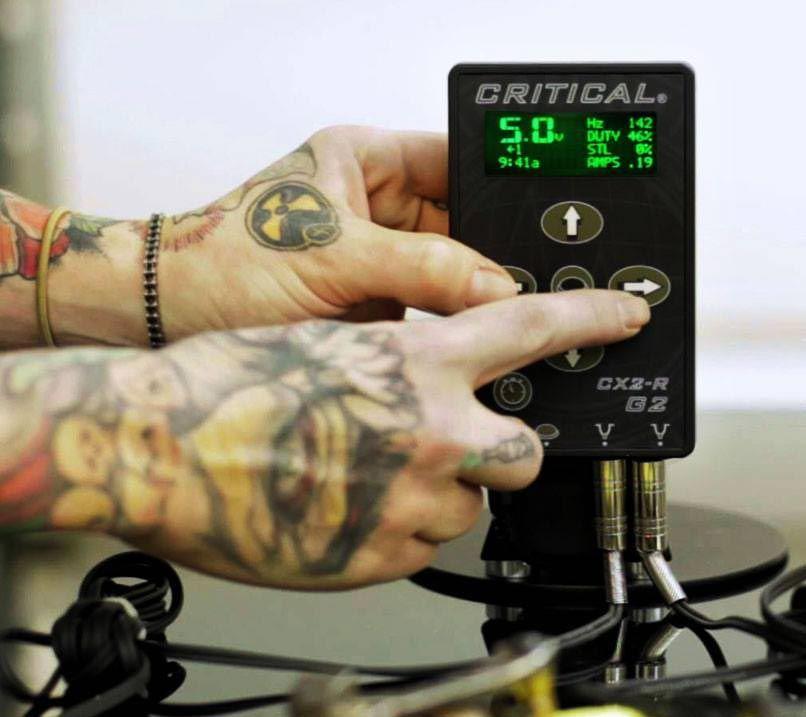 Critical cx2rg2 power supply tattoo power supply