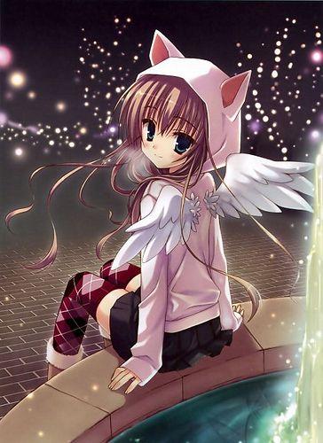 Angel Anime Anime Angel Girl Kawaii Anime