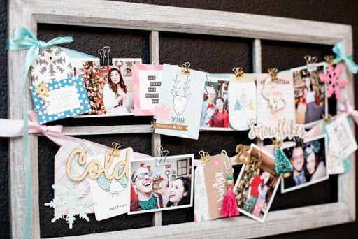 use to display christmas cards