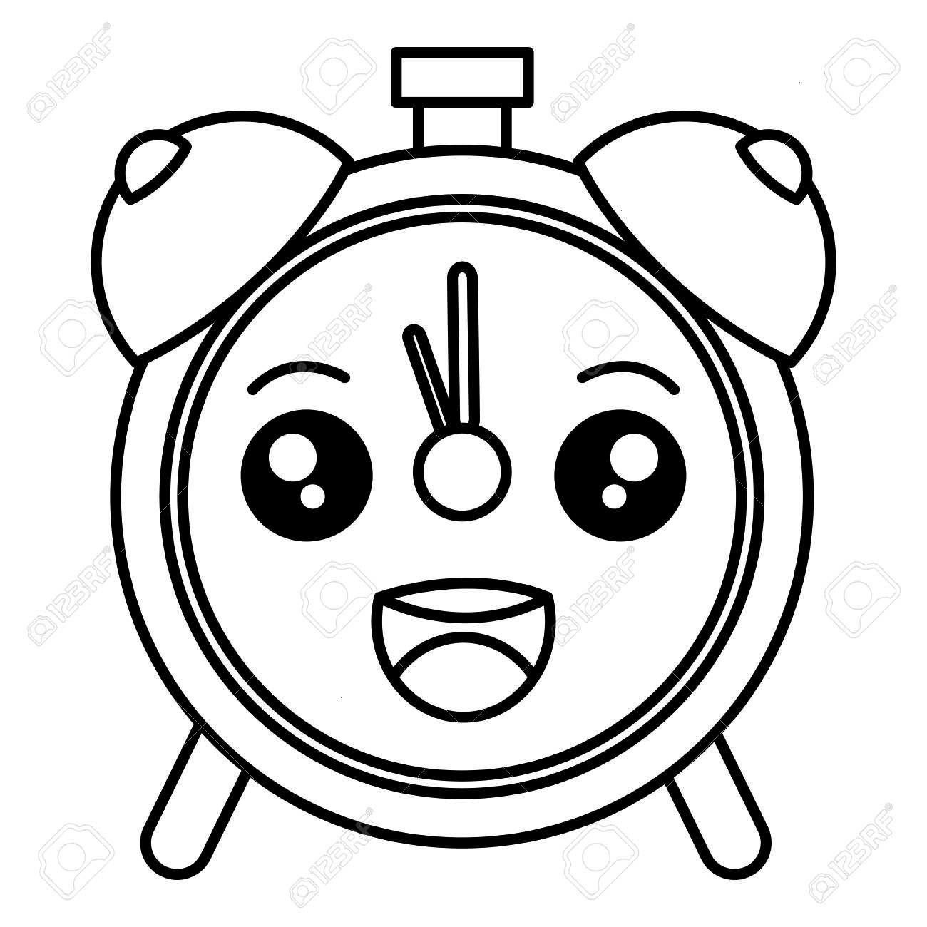 Illustration Character Affiliate Vector Design Alarm