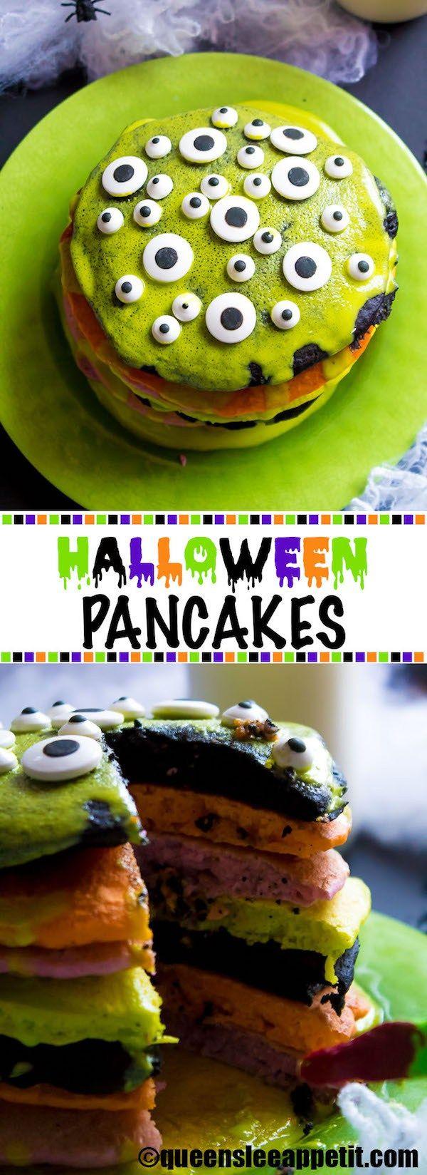 Halloween Pancakes ~ Recipe | Queenslee Appétit