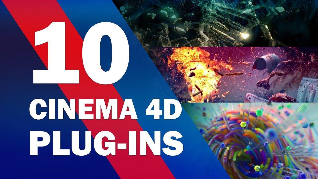 TOP 10 Cinema 4D Plugins 2020 in 2020 Cinema 4d plugins