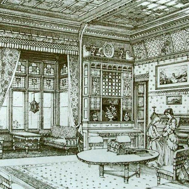 History Of The Interior Design: #InteriorDesign History Lesson: Order Over Chaos In Design
