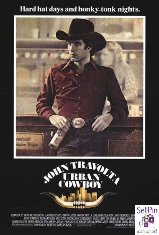 $21.10: Urban Cowboy Poster Print  27x40