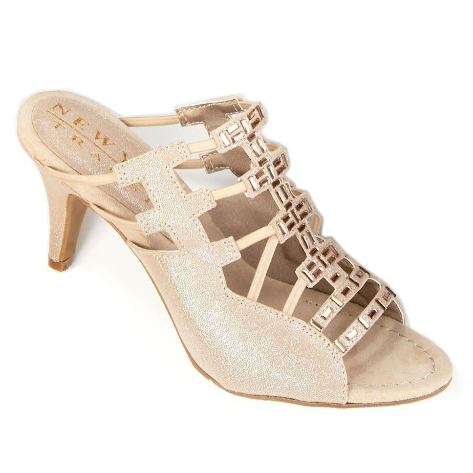 4e16b8800c45 Womens New York Transit Valuable Moment Slide Sandals