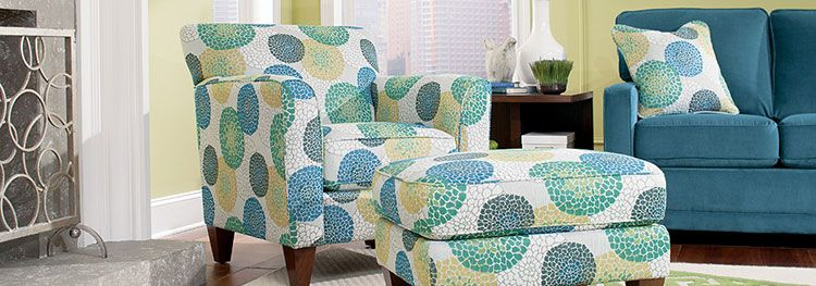 Lazy boy chair and ottoman. Love, love, love!   New interior paint ...