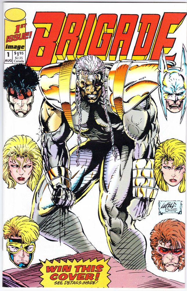 Brigade 1st Issue August 1992 First Printing Image Comics