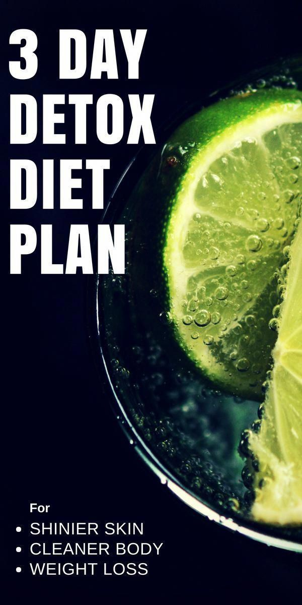 This 3 days detox diet plan that will help you to