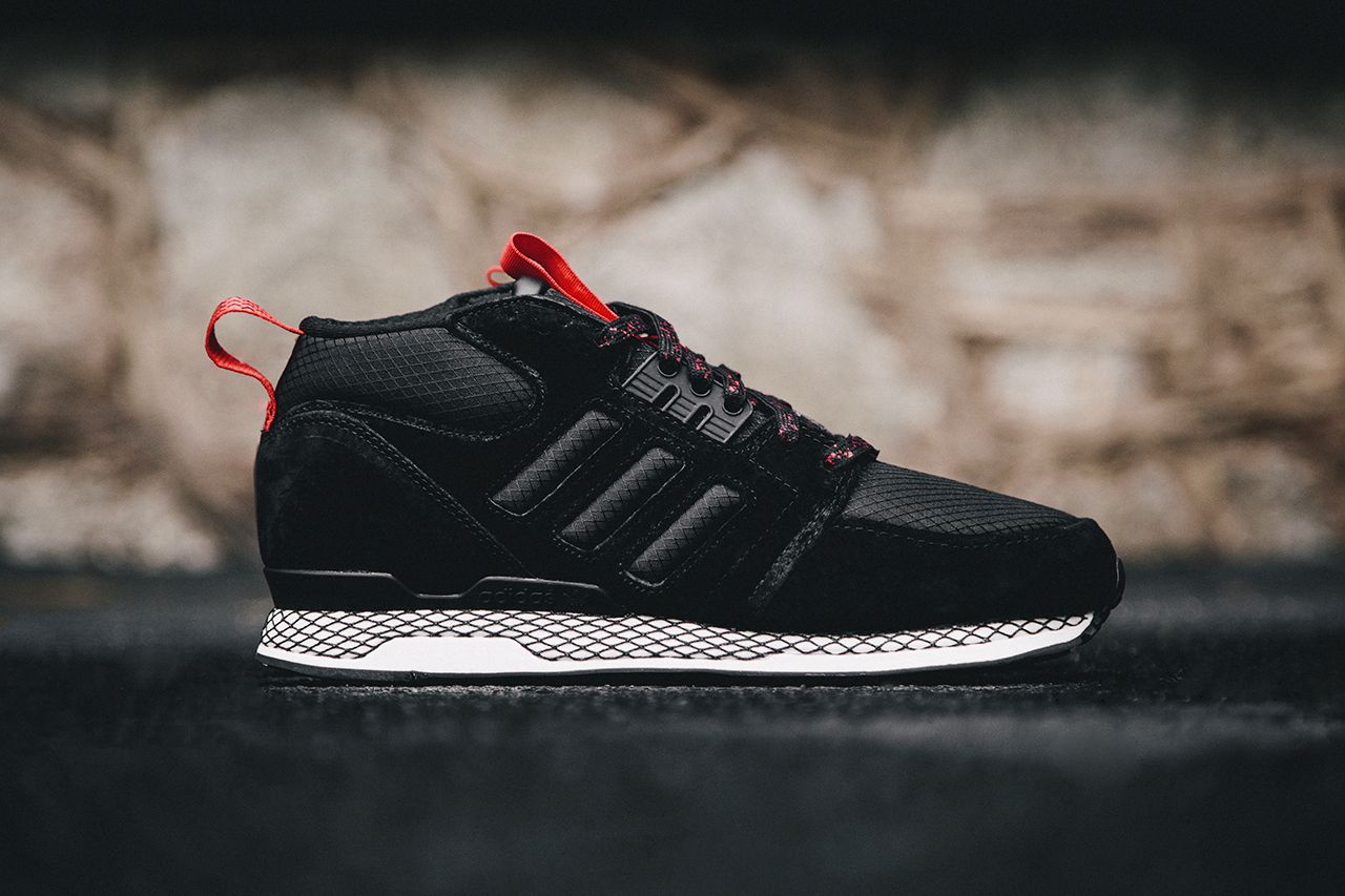 Precious Quality Adidas Zx 850 Running Suede Shoes Black Mens Gold