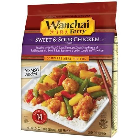 Wanchai Ferry Sweet Sour Chicken Complete Meal For Two 24 Oz Walmart Com Sweet Sour Chicken Sweet N Sour Chicken Meals For Two