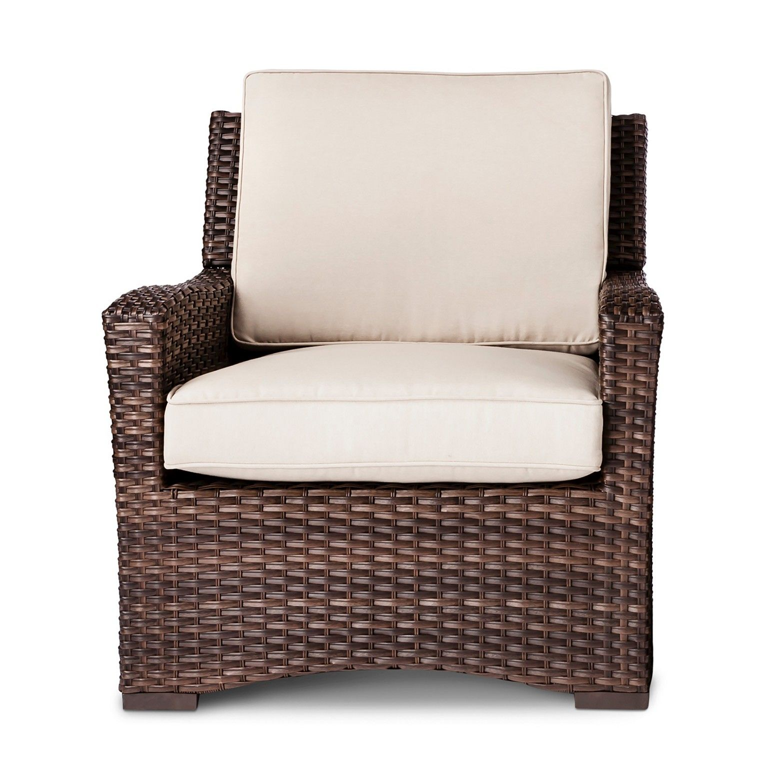 Compatible with the threshold club patio chair cover refresh your backyard with the halsted wicker patio club chair from threshold