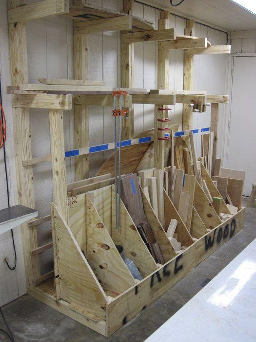 Bargain Lumber Rack - by TheWoodenOyster @ LumberJocks.com ...