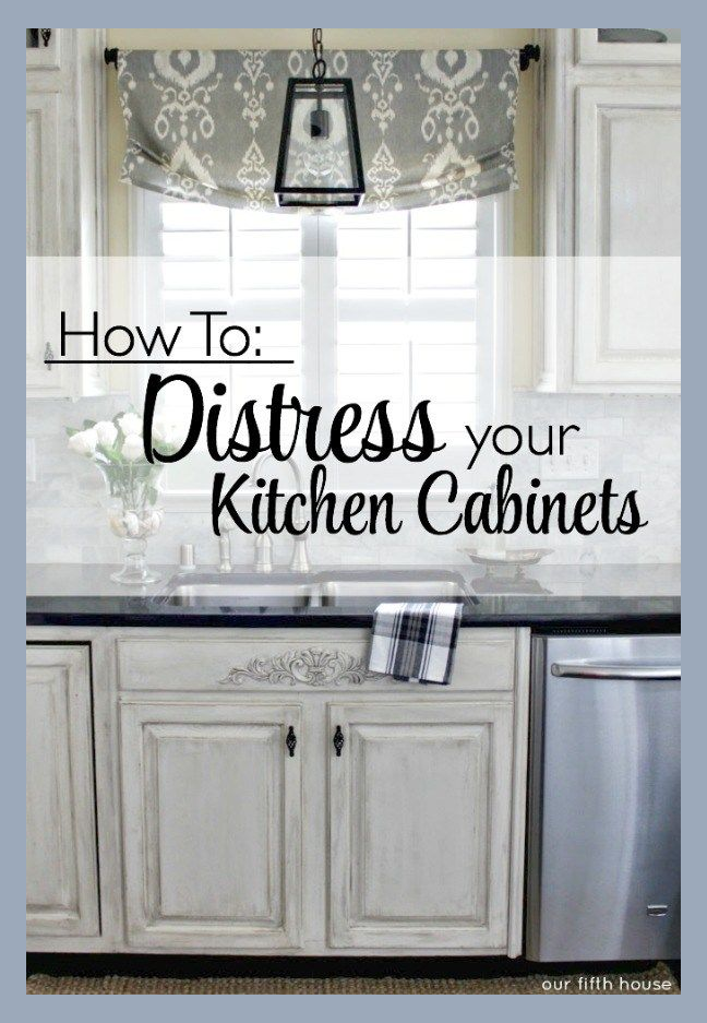Pinterest Distressed Kitchen Cabinets Distressed Kitchen Painting Kitchen Cabinets White