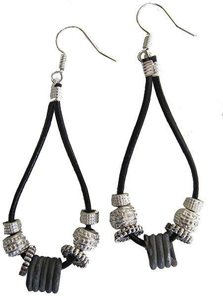 Teardrop Zambian Snare Wire Earrings - Certified Fair Trade ...