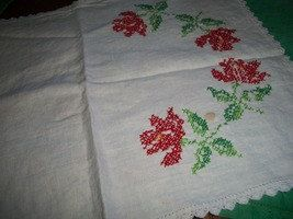 Vintage Cross Stitch Table Runner by Sewilikepatterns on Etsy