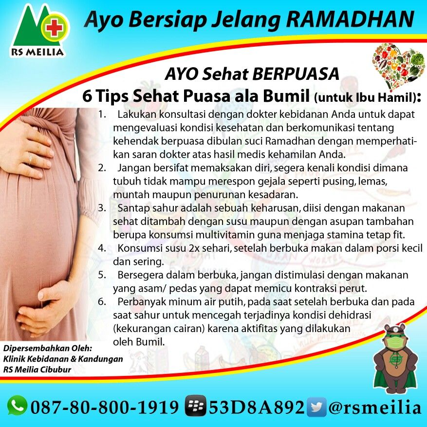 #sehat #sakit #ibu #hamil #puasa #ramadhan #kandungan #kehamilan #rumahsakit #rsmeilia #cibubur #depok #cileungsi #bogor #terbaik