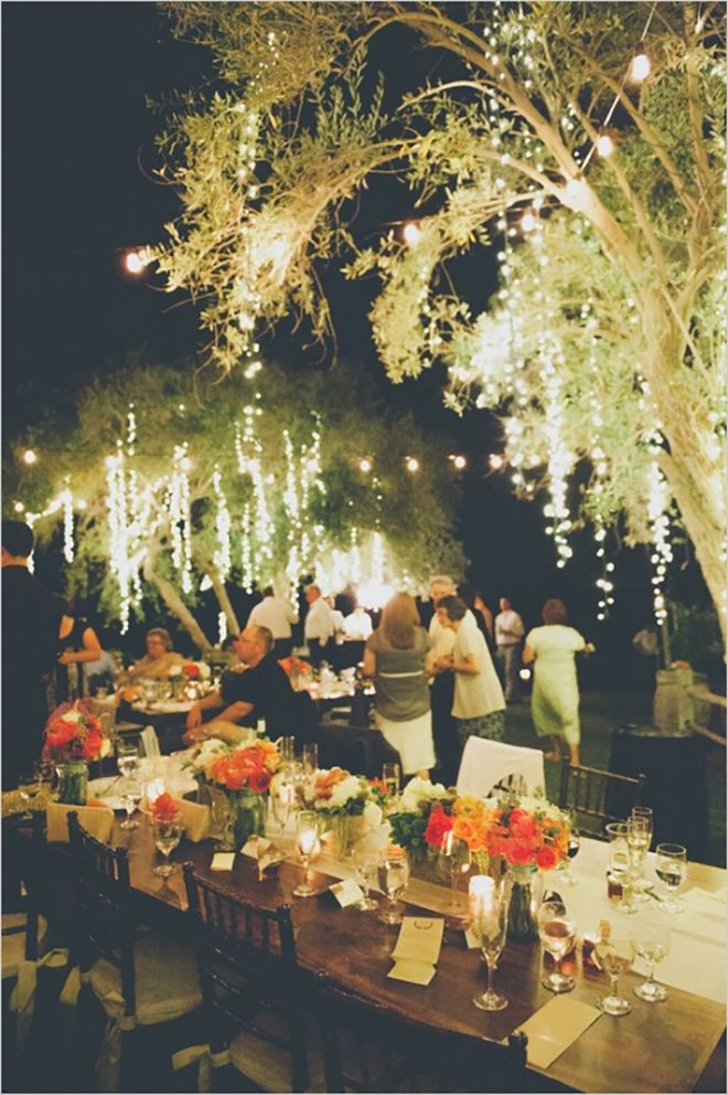 15 Ways To Decorate Your Wedding With Twinkle Lights! | Weddings ...