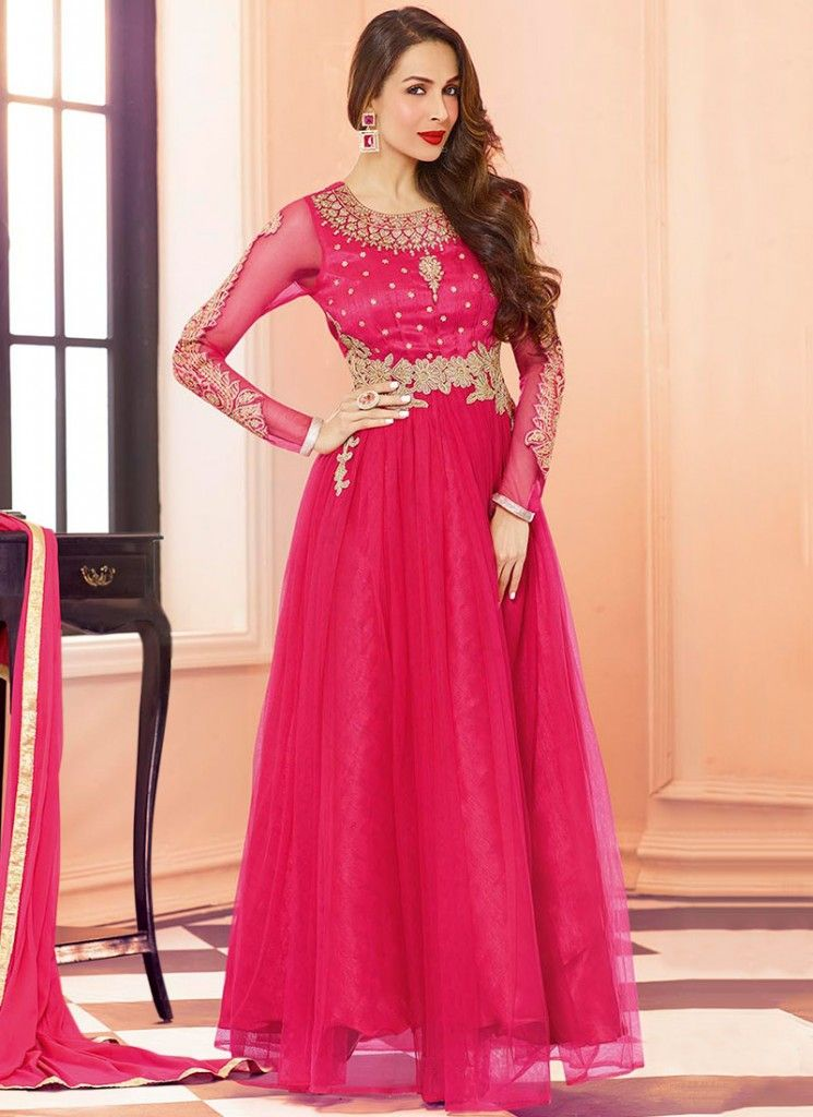 f3033bcb2 Latest Maxi Style Anarkali Dresses Collection Frock Designs 2018 ...
