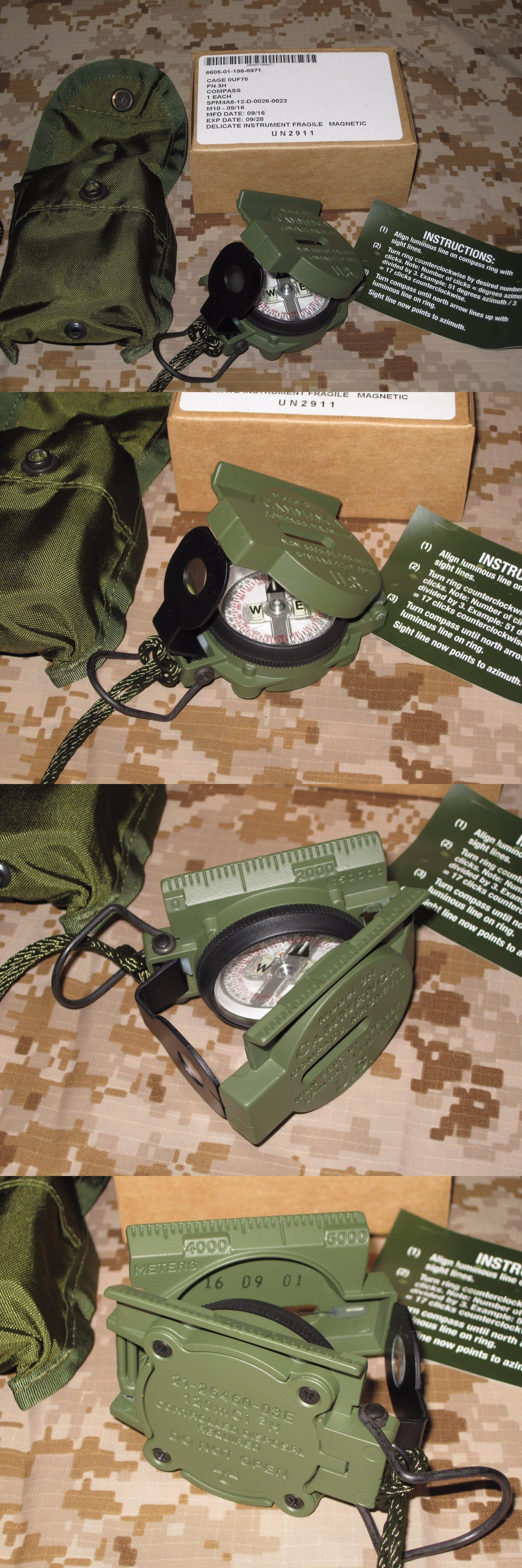 passes and GPS New Usgi Military Issue Marching pass Cammenga Model 3 H