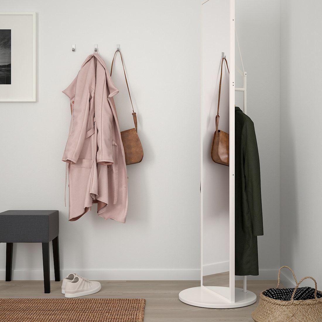 IKEA VENNESLA Table mirror white in 2020 | Home decor