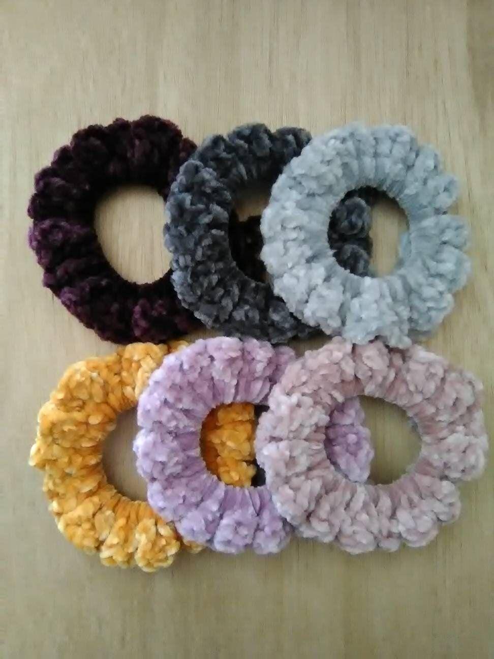 #crochetscrunchies