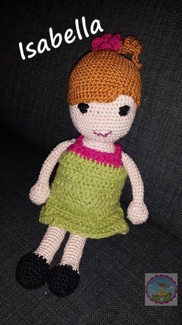 Puppe Häkeln Anleitung Amigurumi Puppen Crochet Dolls Crochet