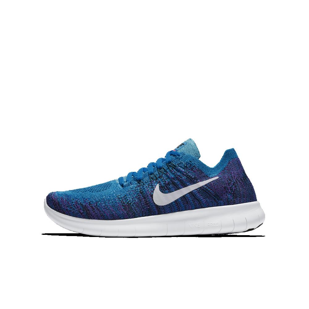 89e1875679a0 Nike Free RN Flyknit 2017 Big Kids  Running Shoe Size
