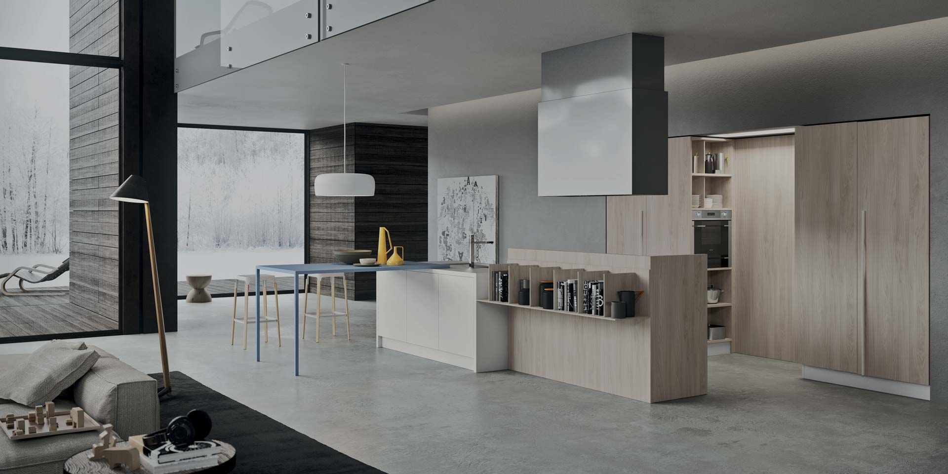 Modern Affordable Italian Kitchen Collection 2 1 By Copatlife Custom Design Kitchen Delivered Italian Kitchen Design Italian Kitchen Italian Kitchen Cabinets