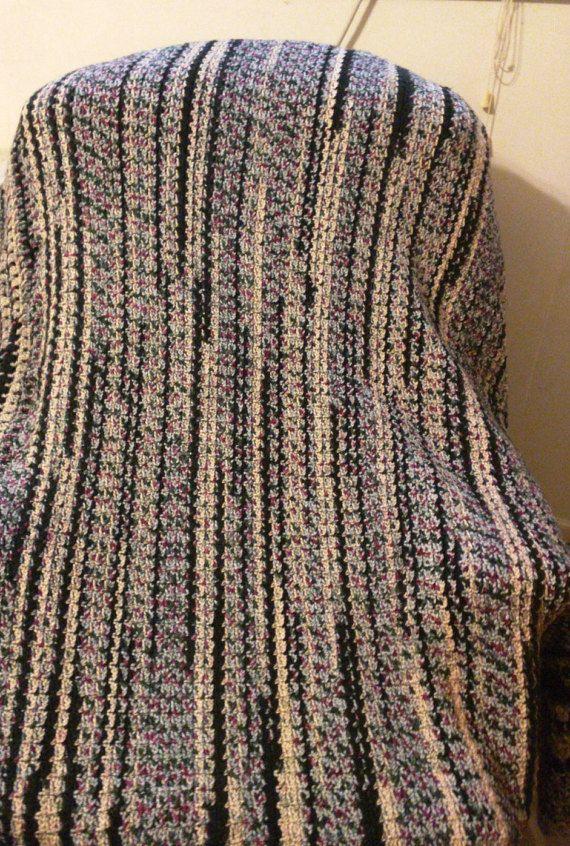 Afghan, lap blanket, throw, Unisex, Den, Living room, Bedroom ...