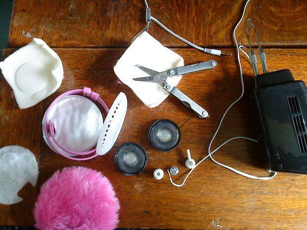 Headphones earmuffs