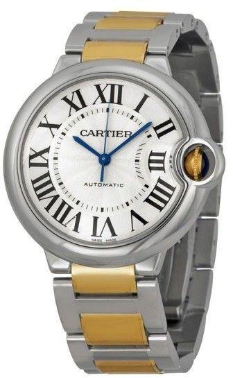 Cartier Ballon Bleu W2bb0012 18k Yellow Gold Stainless Steel