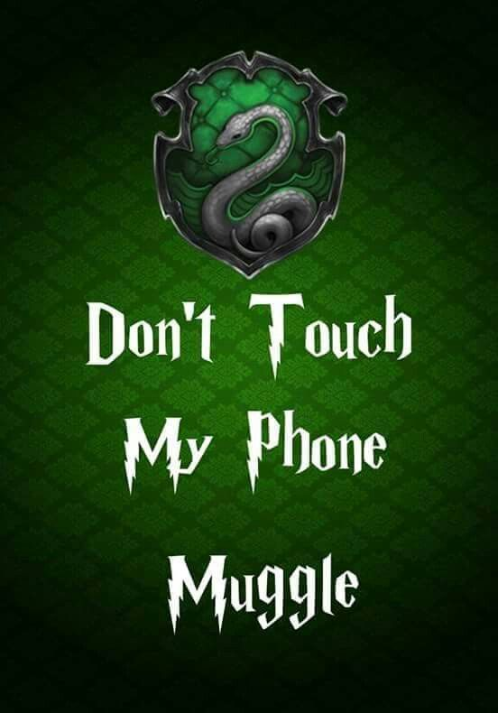 Stop Muggle Harry Potter Book Quotes Slytherin Harry Potter Slytherin Wallpaper