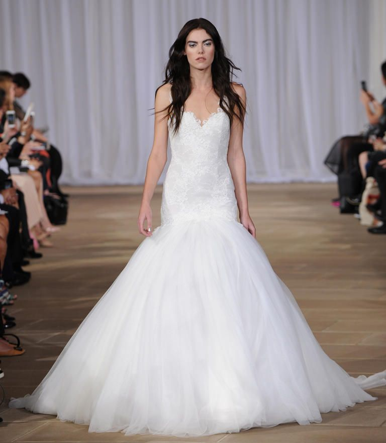 Trumpet Style Wedding Gowns: Ines Di Santo Shows Ultra-Feminine Wedding Dresses For