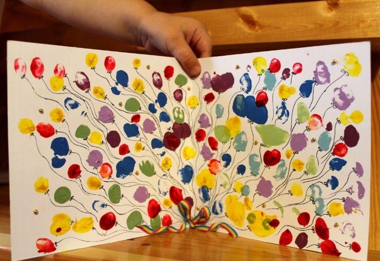 Открытка папе с днем рождения от дочери 3 года своими руками, надписью фото малышей