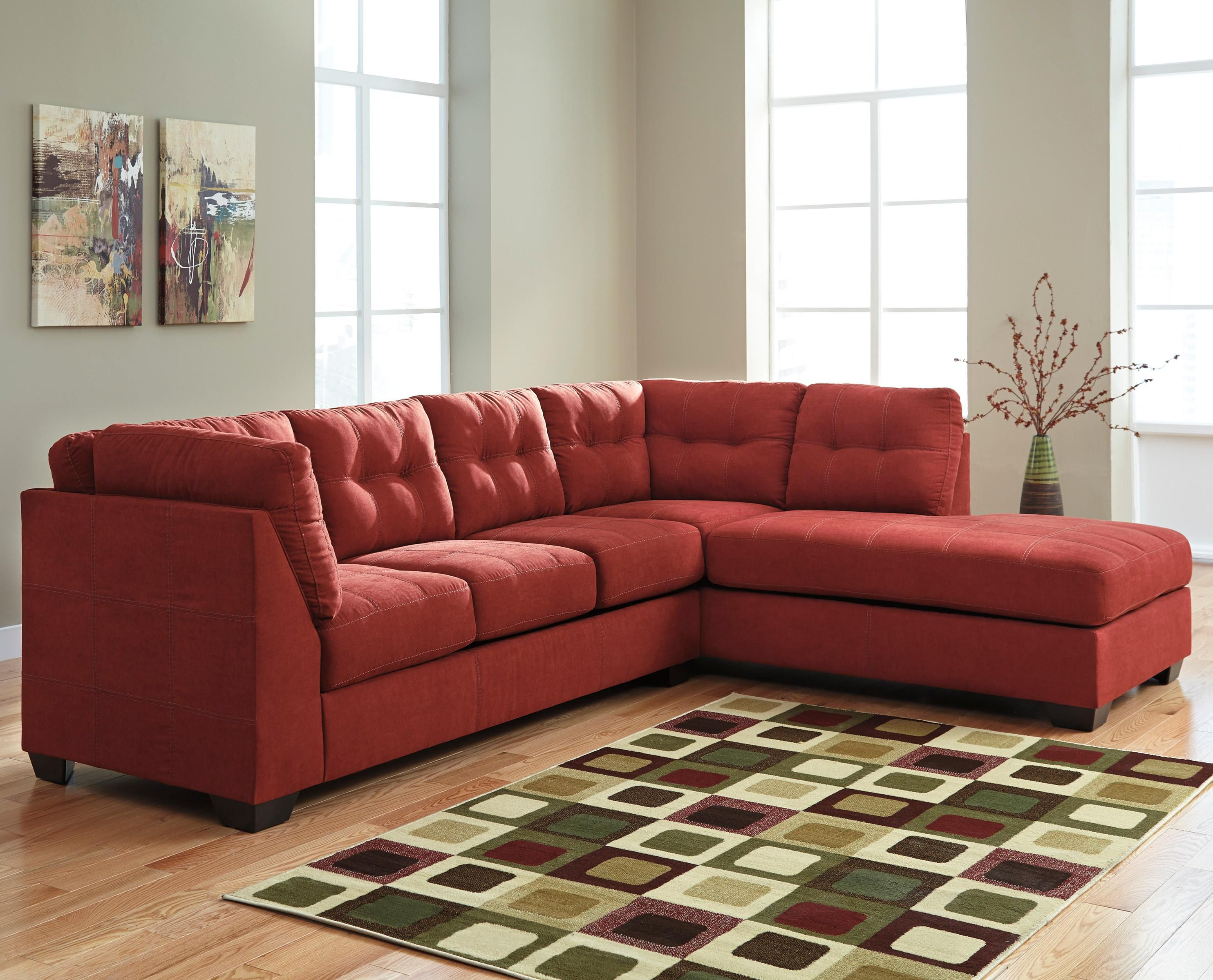 Mattress Stores In Longview Tx Maier - Sienna 2-Piece Sectional with Right Chaise by Benchcraft ...