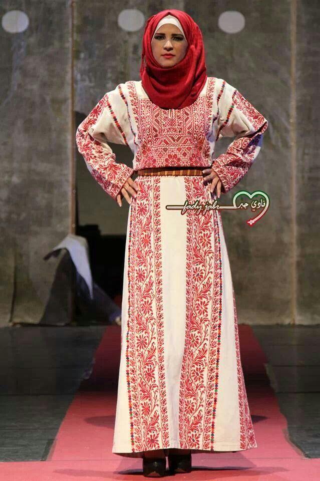 Ramallah thob | Palestine | Pinterest | Palestina, Vestidos ...
