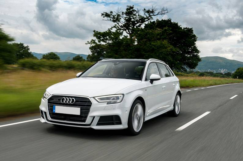 Drive the techheavy Audi A3 Sportback for just over £250