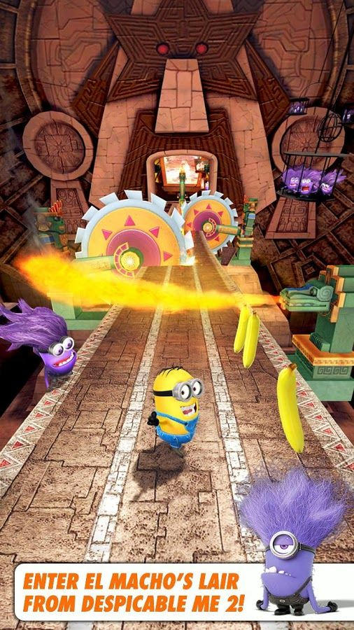 Despicable Me Minion Rush v 1.1.0 apk download Android