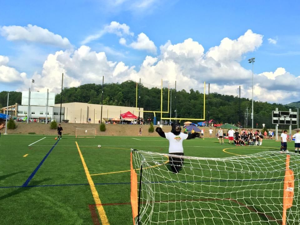 Beautiful day for some 3v3 Soccer Rocky top, World