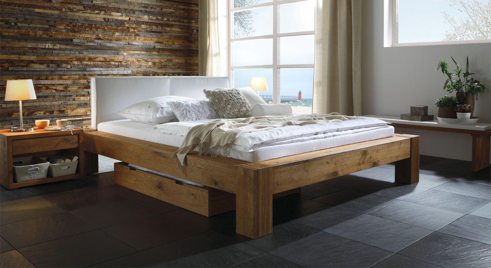 Hasena Betten Eichenbetten, Schlafzimmer design, Bett modern