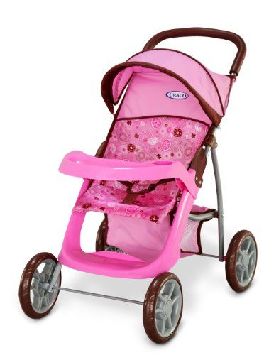 Graco Deluxe Mirage Doll Stroller Graco Large wheels for easy ...
