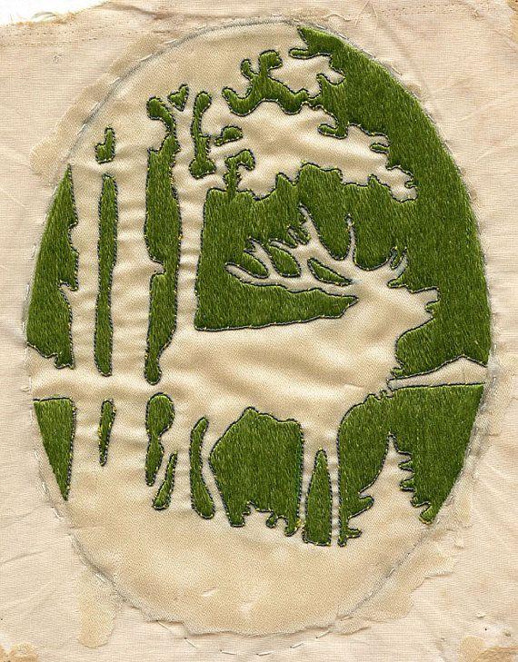 ELK Vintage c.1915 Embroidery Silk