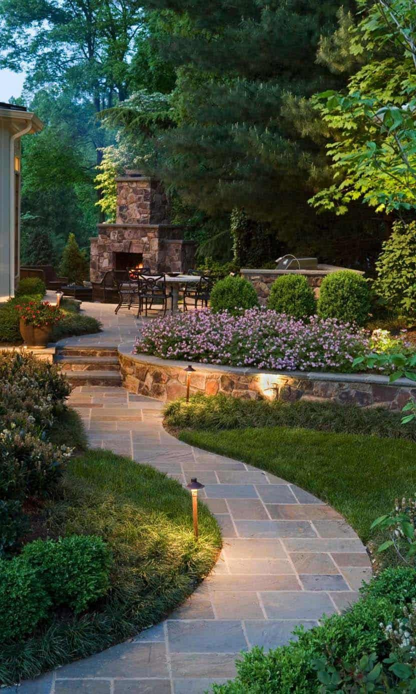 Photo of 50 Very Creative And Inspiring Garden Stone Pathway Ideas – Welcome to Blog