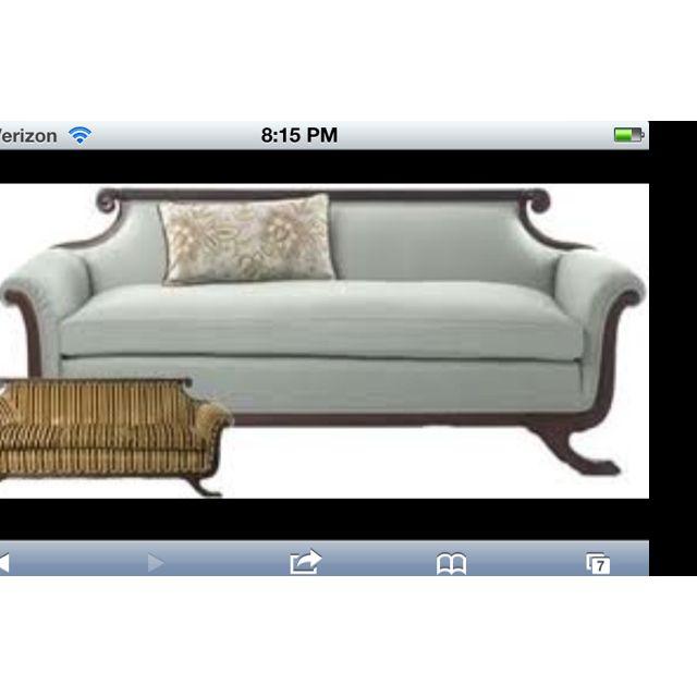 Antique Sofa Duncan Phyfe: Duncan Phyfe Sofa Reupholstered